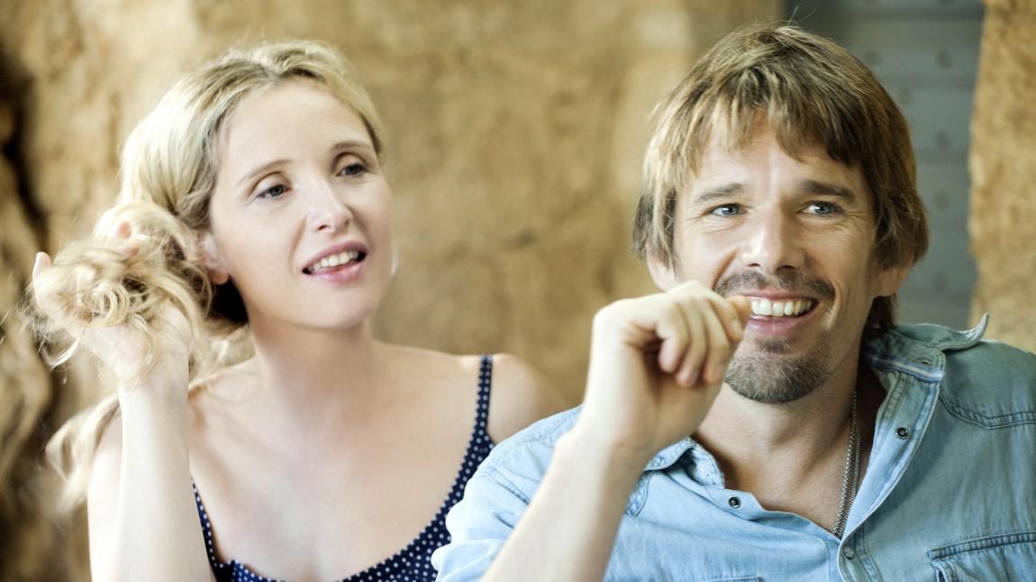 Julie Delpy og Ethan Hawke i «Før midnatt». (Foto: Norsk Filmdistribusjon)