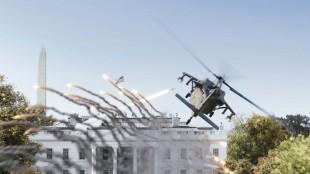 Det hvite hus under angrep i White House Down (Foto: United International Pictures).