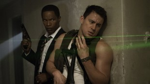 Jamie Foxx og Channing Tatum må nedkjempe skurker i White House Down (Foto: United International Pictures).
