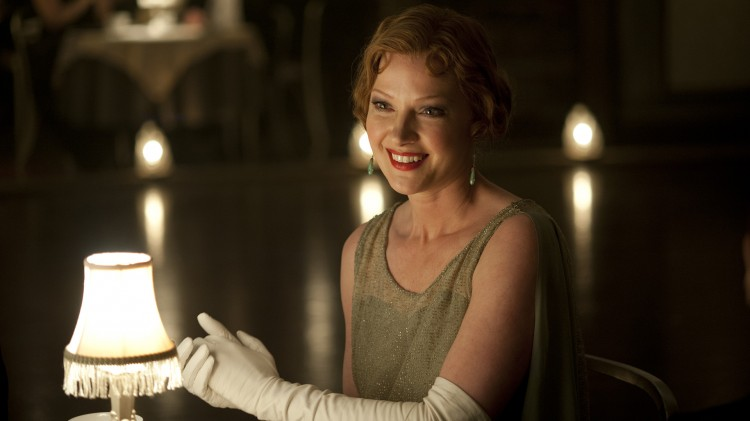 Gretchen Mol er tilbake som bordelleieren Gillian Darmody i «Boardwalk Empire». (Foto: HBO)