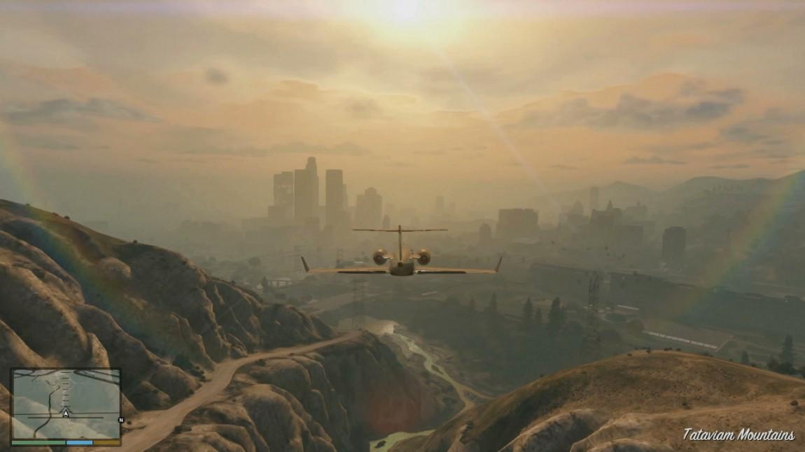 Byen er framleis ikkje uttørka, sjølv for dei som har fullført «GTA V». Vil me få «Stories from Los Santos»? (Foto: Rockstar Games)