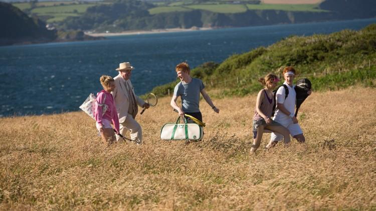About Time er blant annet innspilt i nydelige omgivelser i Cornwall (Foto: United International Pictures).