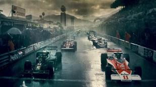Spennende og dramatisk Formel 1-racing i Rush (Foto: Norsk Filmdistribusjon).