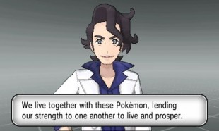 Eh, ok? Professor Sycamore fra «Pokémon X og Y». (Foto: Nintendo)