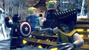Captain America, Human Torch, Thor og Wolverine i LEGO Marvel Super Heroes (Foto: Warner Bros. Interactive Entertainment).
