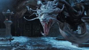Digitale monstre imponerer ikke i 47 Ronin (Foto: United International Pictures).