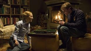 Sonja Richter og Mikkel Boe Følsgaard i Kvinnen i buret (Foto: Zentropa Entertainments/Nordisk Film Distribusjon AS).