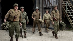 Nazistjålet kunst skal reddes i The Monuments Men (Foto. Twentieth Century Fox).