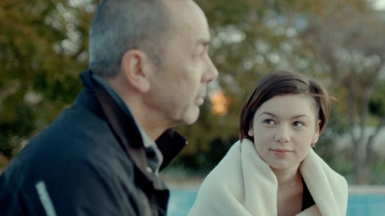 Petrus Wildschut og Julia Wildschut som far og datter i Elsk meg (Foto: Øystein Mamen/Motlys/Norsk Filmdistribusjon).