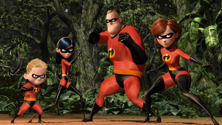 The Incredibles sentrale familie. (Foto: Pixar/Disney)