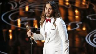 Jared leto vant Oscar for beste mannlige birolle. (Foto: REUTERS/Lucy Nicholson, NTB Scanpix).