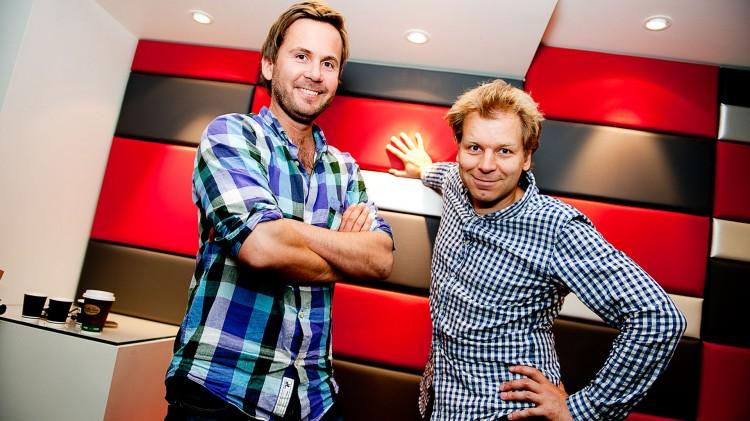Ti år etter Nissene på låven kom Kristian Ødegård og Espen Eckbo med oppfølgeren Nissene over skog og hei. (Foto: TVNorge).
