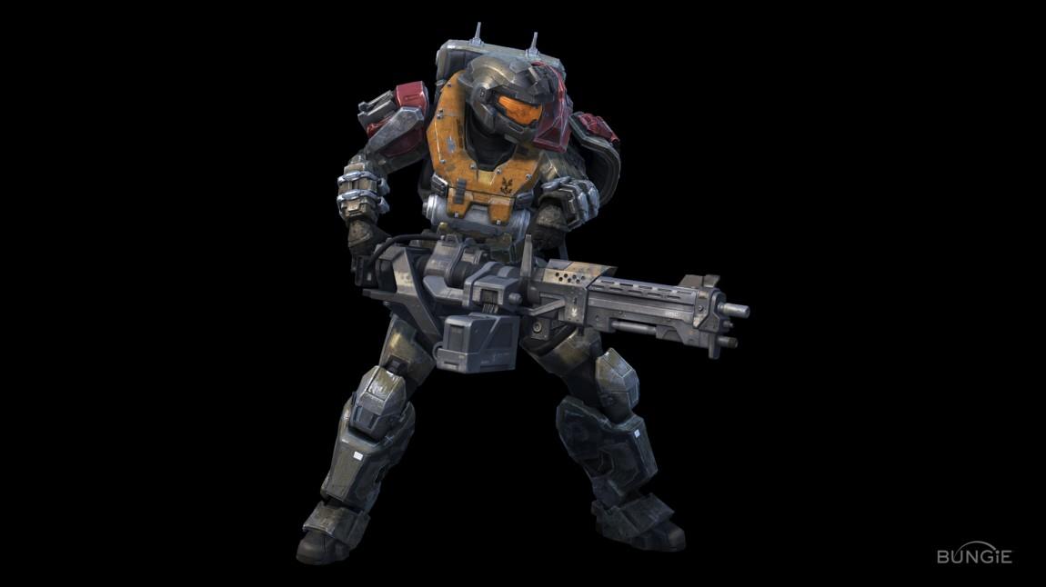 Jorge fra spillet Halo: Reach. (Foto: Bungie)
