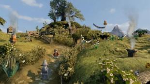 Den visuelt rike fortellingen gjørt seg godt også i Lego-versjon. Skjermbilde fra «Lego The Hobbit». (Foto: Traveller's Tales / Warner Bros.)