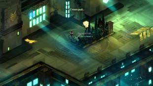 Der eventyret begynner i Transistor (Foto: Supergiant Games)