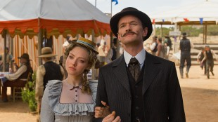 Amanda Seyfried og Neil Patrick Harris i A Million Ways To Die In The West (Foto: United International Pictures).