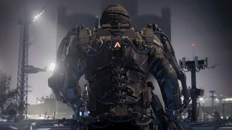Stillbilde fra traileren til «Call of Duty: Advanced Warfare». (Foto: Activision)
