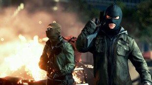 Kampen mellom organisert kriminalitet og korrupt politi står i fokus i «Battlefield Hardline». (Promofoto: EA).