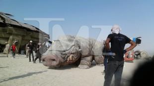 Lekket bilde fra settet til «Star Wars: Episode VII». (Foto: TMZ.com)