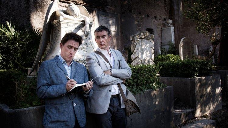 Rob Brydon og Steve Coogan i The Trip to Italy. (Foto: Tour de Force).