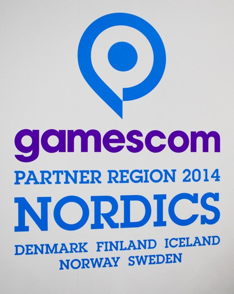 Norden er årets partnerområde for den mye besøkte spillmessen Gamescom i Köln. (Foto: NRK / Martin Aas)