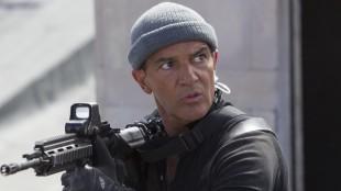 Antonio Banderas er et morsomt tilskudd som Galdo i The Expendables 3 (Foto: SF Norge AS).