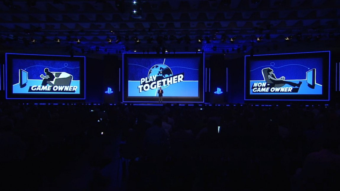Under Sony sin pressekonferanse den 12. august på spillmessen Gamescom fortalte selskapet om sine planer for «Share Play». (Foto: Sony)