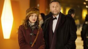 Isabelle Huppert møter Michael Nyqvist i Noen dager i Paris (Foto: Another World Entertainment Norway AS).