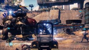 Samarbeid med andre spillere er en viktig del av «Destiny». Skjermbilde hentet fra spillet. (Foto: Bungie)