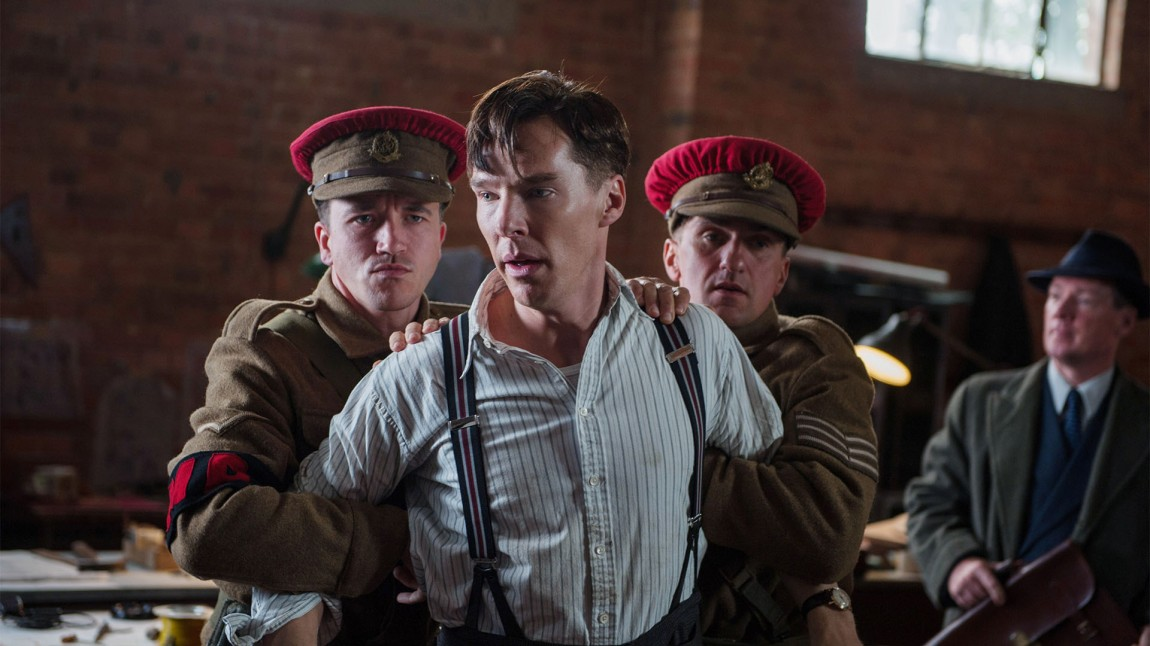 Benedict Cumberbatch spiller hovedrollen som Allan Turing i «The Imitation Game». (Foto: Jack English/ The Weinstein Company)