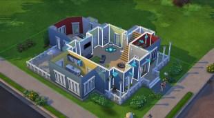 Byggeverktøyet er mer intuitivt enn tidligere og forstår funksjonen til enkelte rom. Det gjør det enklere å dra, flytte og bygge om huset enn tidligere. Promobilde fra «The Sims 4». (Foto: EA / Maxis)