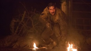"Shia LeBeouf spiller godt som Boyd ""Bible"" Swan i Fury (Foto: United International Pictures)."