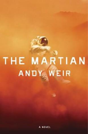 Forsideillustrasjonen til boka «The Martian» av Andy Weir (først utgitt i 2012). (Foto: Crown Publishers (hardcover), 2014. Cover artist: Eric White.)