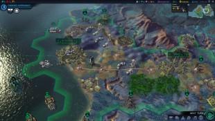 De heksagonale spillrutene og mange andre elementer i «Civilization: Beyond Earth» er hentet direkte fra forgjengeren «Civilization V». Skjermbilde fra spillet. (Foto: Firaxis)