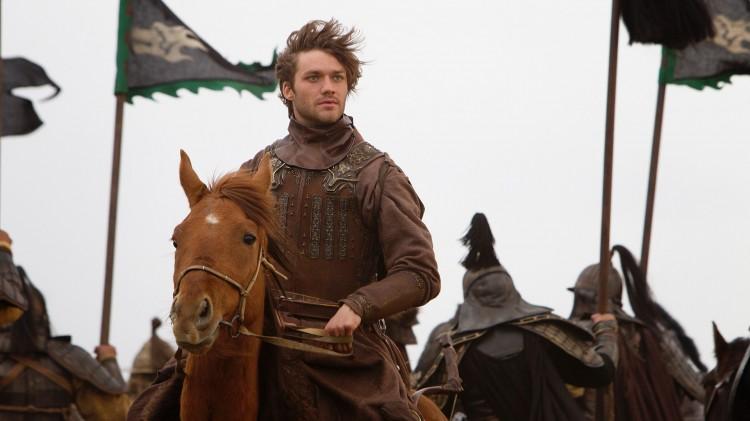 Den italienske skuespilleren Lorenzo Richelmy gjør sin internasjonale debut i tv-serien om eventyreren Marco Polo. (Promofoto: Netlix)