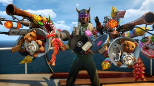 Hvorfor bruke et vanlig skytevåpen i kampen mot muterte monstre? (Promofoto: Microsoft / Insomniac Games)