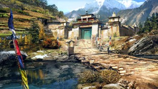 Sørøst-asiatisk kultur og religion, samt tradisjoner fra landene i Himalaya, skaper et troverdig bakteppe for historien i «Far Cry 4». (Promofoto: Ubisoft)