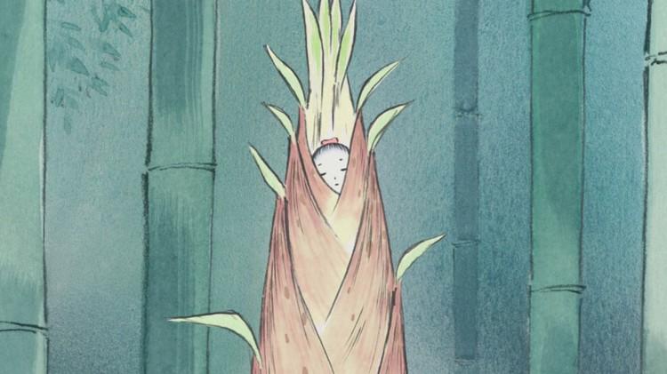 Bambushoggeren finner den lille prinsessen inni et lysende bambusskudd. (Foto: Arthaus).
