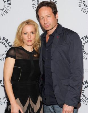 Fox vil ha Gillian Anderson og David Duchovny ombord for en reboot av 'The X-Files'. Her er de på et 'X-Files'-event i 2014. (Foto: Evan Agostini/Invision/AP, NTB Scanpix).