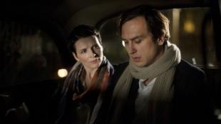 Maria (Juliette Binoche) og teaterinstruktøren Klaus (Lars Eidinger) i Sils Maria (Foto: AS Fidalgo).