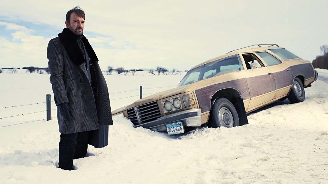 Lorne Malvo (Billy Bob Thornton) får biltrøbbel utenfor  Bemidji, Minnesota, det fører til store omveltninger for det lille lokalsamfunnet.(Foto: FX, MGM)