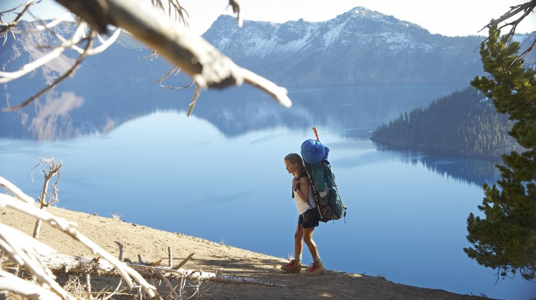 Vakker natur langs Pacific Crest Trail i Wild (Foto:  Fox Film).