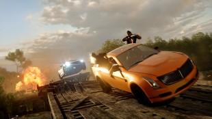 «Hotwire» er «Battlefield: Hardline» sitt sterkeste kort. Hvor bevegelige mål må tas over og beskyttes av de to lagene. (Foto: EA)