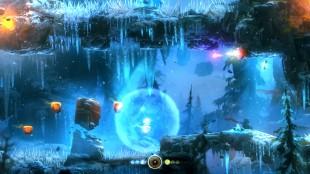 Ulike krefter og evner blir utviklet etterhvert som Ori blir sterkere. Skjermbilde fra «Ori & the Blind Forest». (Foto: Moon Studios / Microsoft)