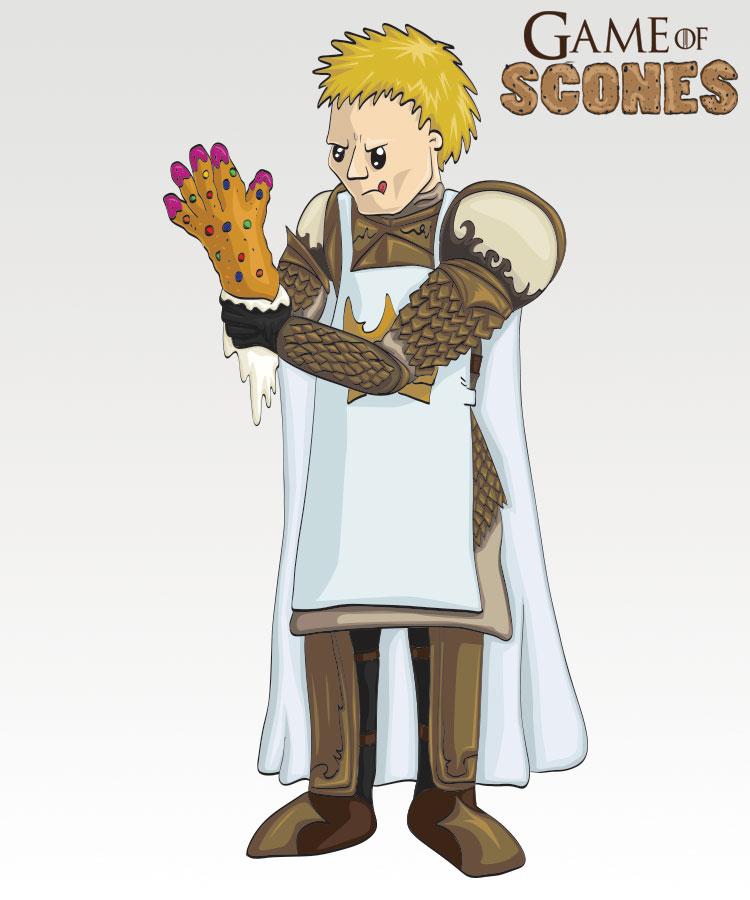 Jaime har bakt håndbakst (Illustrasjon: Martin Aas / NRK)
