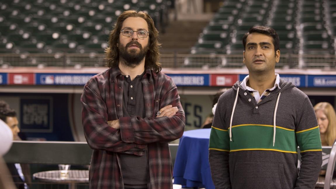 Gilfoyle (Martin Starr) og Dinesh (Kumail Nanjiani) utgjør to femdeler av teamet bak Pied Piper. (Foto: HBO Nordic)