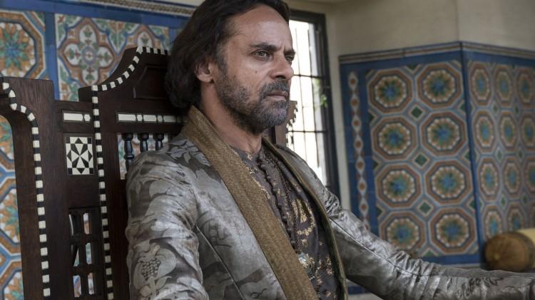 Alexander Siddig spiller Doran Martell i femte sesong av Game of Thrones. (Foto: HBO Nordic).