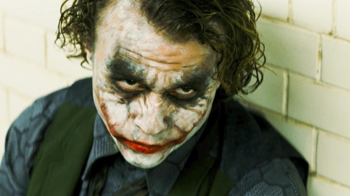 Heath Ledger som «The Joker». (Foto: Warner Bros. Pictures)