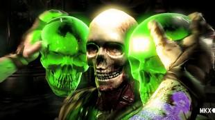 «X-Ray»-angrep setter selve kampene på pause mens grafiske animasjoner viser hvordan skaden forplanter seg i motstanderen. (Foto: NetherRealm Studios)