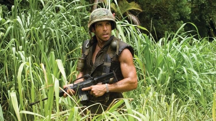 Ben Stiller aka Tugg Speedman i Tropic Thunder. (Foto: United International Pictures).